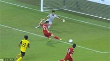 Không thể tin Tiến Linh lại dứt điểm hỏng ăn (trực tiếp: Malaysia 0-0 Việt Nam)