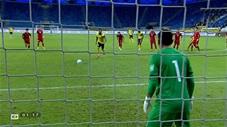 De Paula thực hiện thành công quả 11m (trực tiếp: Malaysia 1-1 Việt Nam)