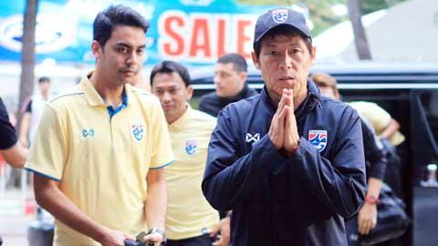 Thái Lan sa thải HLV Nishino?
