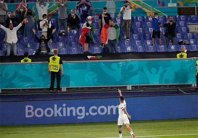 ĐT Italia đã có sự khởi đầu suôn sẻ ở EURO 2020