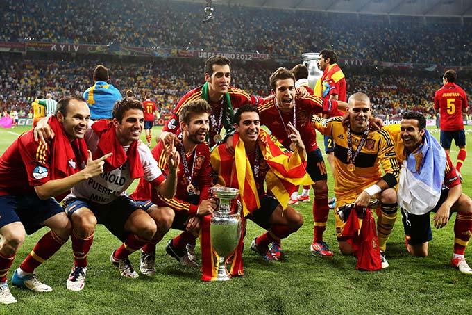 Bộ khung của Barca là nền tảng của La Roja