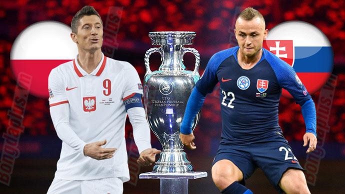 Nhận định bóng đá Ba Lan vs Slovakia, 23h00 ngày 14/6: Khó lấy 3 điểm