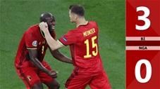 Bỉ vs Nga: 3-0, cú đúp của Lukaku