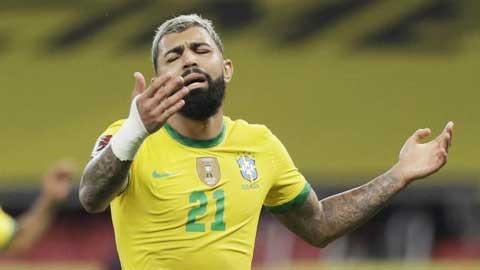 ĐT Brazil tại Copa American 2021 vẫn thiếu một trung phong giỏi