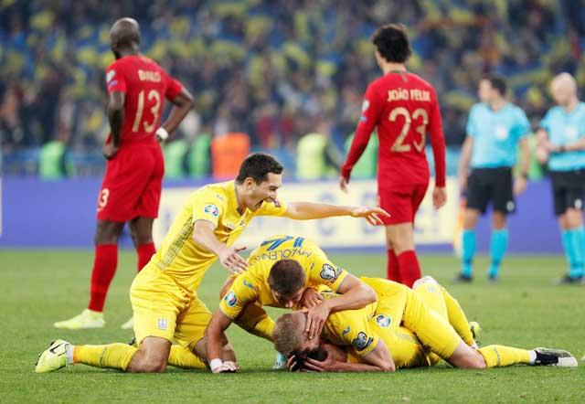 Ukraine đang bay cao với chuỗi 6 trận bất bại liên tiếp