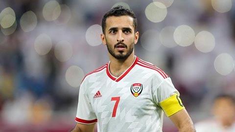 """UAE kỳ vọng vào """"Vua phá lưới"""" vòng loại  World Cup"""