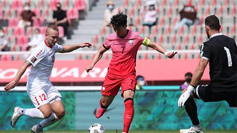 Hạ Lebanon,ĐT Hàn Quốc giúp ĐTViệt Nam 'mở toang' cánh cửa vào vòng loại thứ 3 World Cup