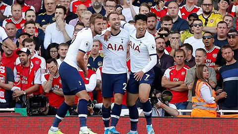 Son, Kane và Eriksen là những đối tác ăn ý khi còn ở Tottenham