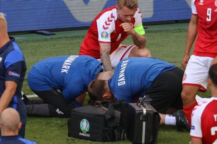 Đội ngũ y tế Đan Mạch đã kịp thời cứu sống Eriksen