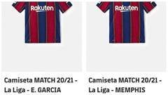Barca đã bắt đầu bán áo đấu của Depay