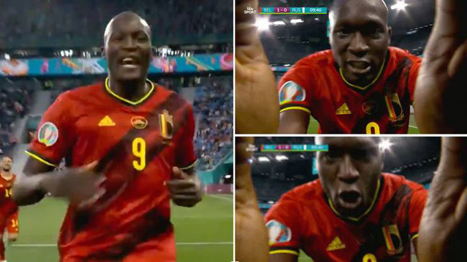 Lukaku gọi tên Eriksen sau khi ghi bàn cho ĐT Bỉ