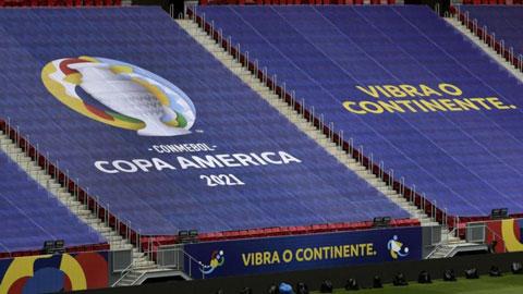 8 cầu thủ Venezuela dương tính với Covid-19, Copa America đối diện nguy cơ lớn