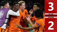 Hà Lan vs Ukraine: 3-2, 'cơn lốc cam' thắng chật vật
