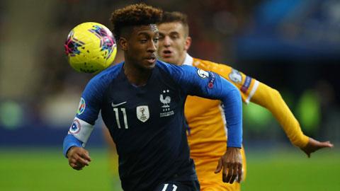 Coman đang quyết tâm cùng ĐT Pháp tiến vào chung kết kỳ EURO này