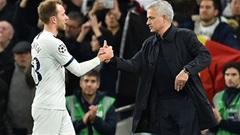 Mourinho khóc và cầu nguyện cho Eriksen