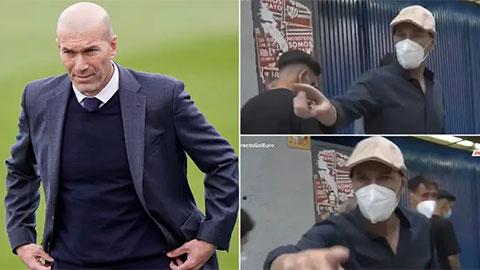 """Vì một câu hỏi,  Zidane nổi điên đòi ăn thua đủ với 'kẻ quấy rầy"""""""