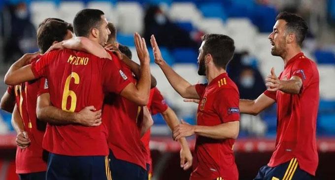 Tây Ban Nha không có lực lượng mạnh ở EURO 2020