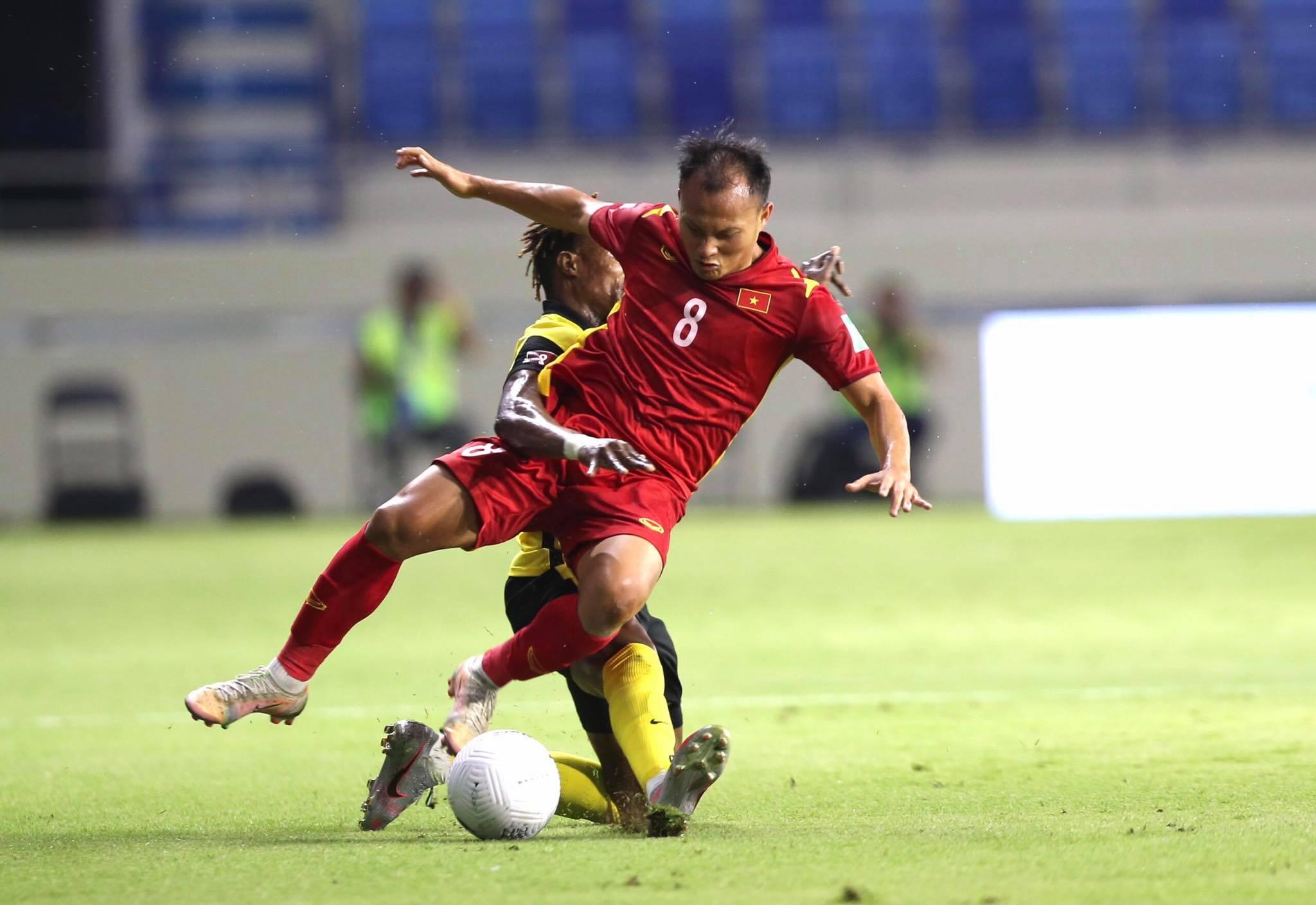 Trọng Hoàng tiếp tục đá chính ở trận gặp UAE - Ảnh: Minh Anh