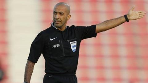 Trọng tài Iraq bắt chính trận UAE vs Việt Nam
