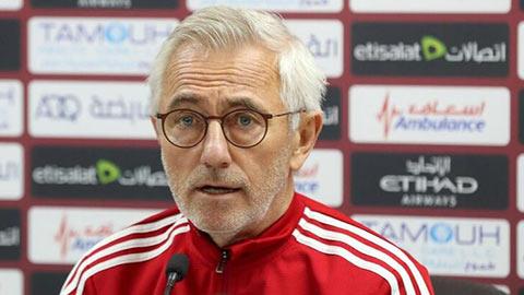 HLV Bert van Marwijk: 'UAE đã mạnh hơn so với khi thua Việt Nam;