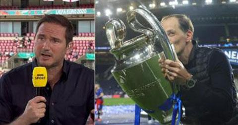 Lampard có cảm giác tiếc nuối khi Tuchel giúp Chelsea giành chức vô địch Champions League