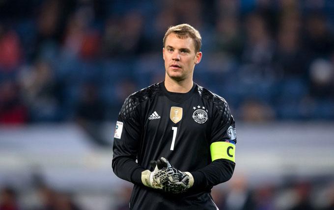 Neuer vẫn là chốt chặn đáng tin cậy nơi hậu tuyến của ĐT Đức