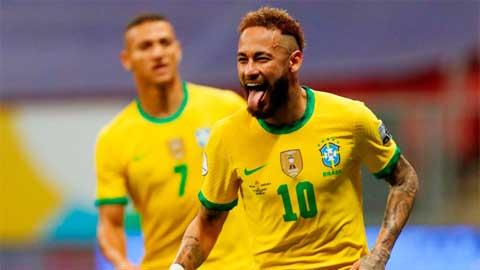 ĐT Brazil: Có Neymar, có tất cả!