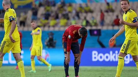 Tiền đạo Morata bị truyền thông 'đánh hội đồng' sau trận Tây Ban Nha vs Thụy Điển