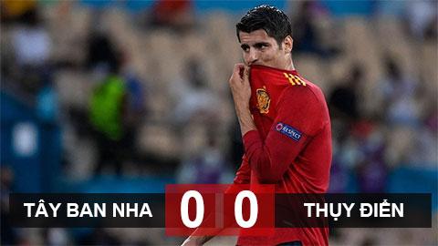 Kết quả Tây Ban Nha 0-0 Thụy Điển: Biến bàn thắng thành cơ hội