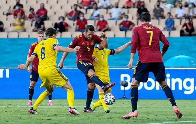 Kết quả hòa 0-0 là xứng đáng cho sự phung phí của Tây Ban Nha