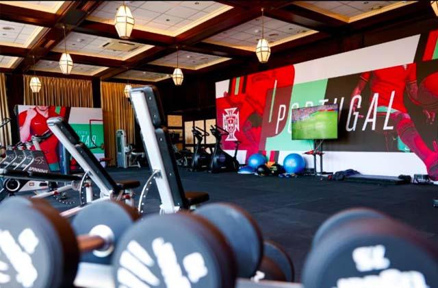 Phòng tập gym đầy đủ tiện nghi