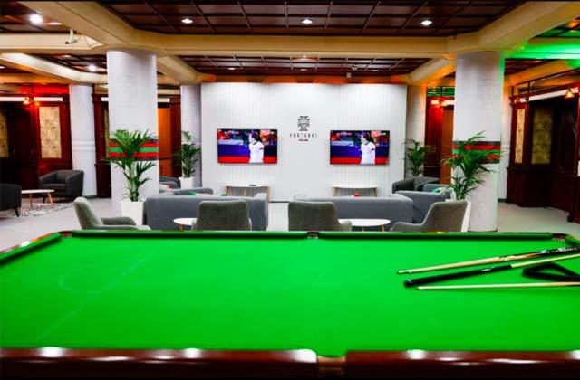 Khuôn viên khách sạn được bài trí giống như điểm huấn luyện tại quê nhà của các ĐT Bồ Đào Nha