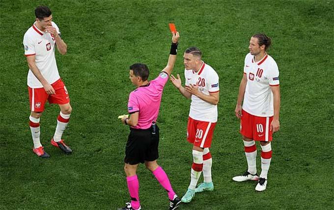 Thẻ đỏ của Ba Lan