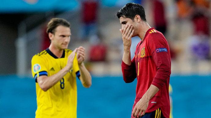 ĐT Tây Ban Nha lập hàng loạt kỷ lục vẫn chỉ hòa không bàn thắng với ĐT Thụy Điển