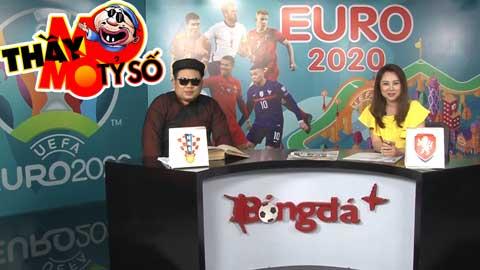 EURO 2020: Thầy mo mò tỷ số trận Croatia vs Czech