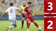 UAE vs Việt Nam: 3-2 (Vòng loại World Cup 2022)