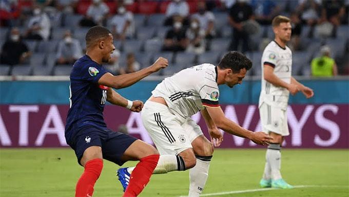 """Hummels """"đốt lưới nhà"""" biếu không cho Pháp bàn thắng duy nhất của trận đấu"""