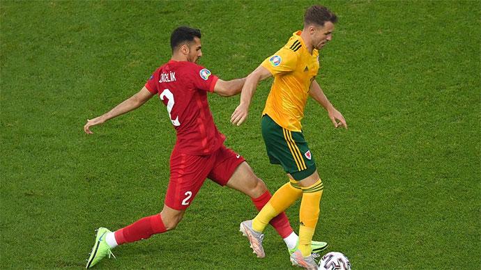 """Tường thuật Thổ Nhĩ Kỳ 0-2 Wales<span class=""""lived""""></span>"""