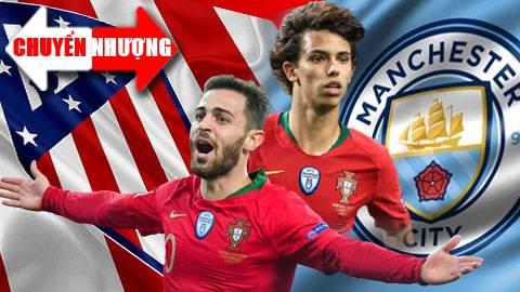 Tin chuyển nhượng 16/6: Man City và Atletico trao đổi hai ngôi sao tuyển Bồ Đào Nha