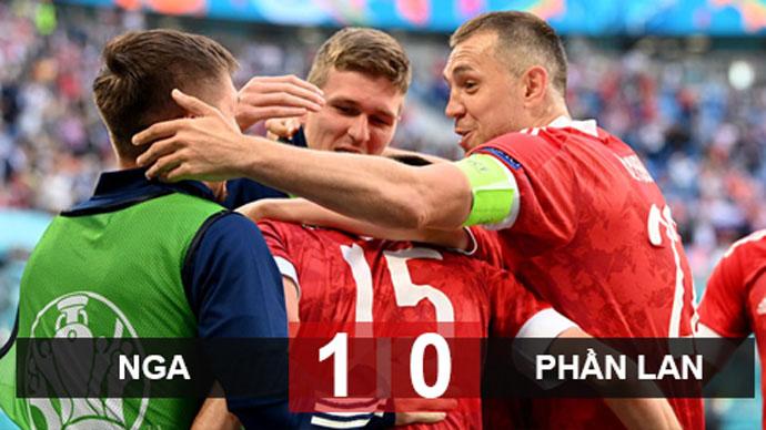 Kết quả Nga 1-0 Phần Lan: Gấu Nga có 3 điểm quan trọng