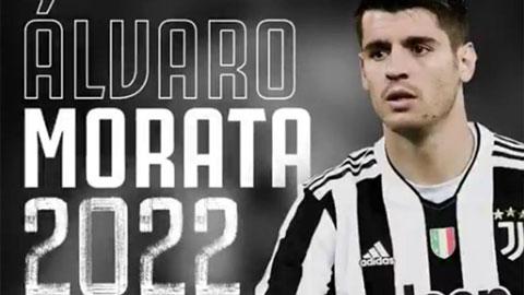 Juventus gia hạn hợp đồng mượn Morata