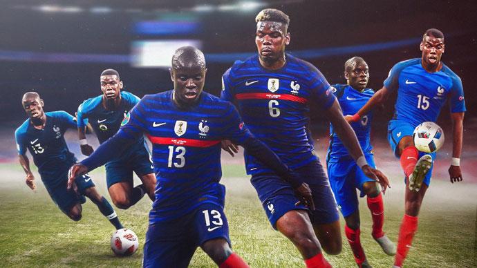Pogba - Kante: Cặp đôi bất bại của ĐT Pháp