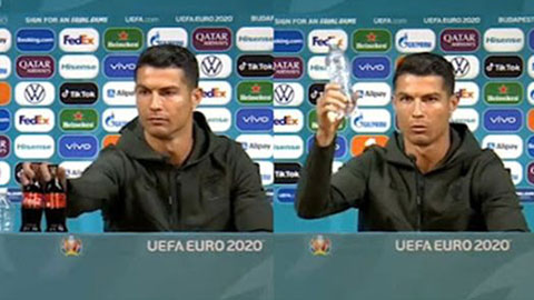 Ronaldo, Pogba, Locatelli đều gạt đồ uống của nhà tài trợ EURO 2020