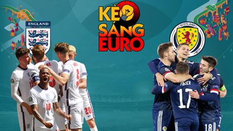 KÈO sáng EURO 2020 ngày 18/6: Tưng bừng bàn thắng trận cầu Anh vs Scotland?