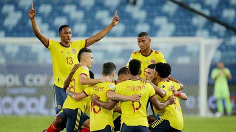 Ở thời điểm hiện tại, Colombia sẽ có chiến thắng dễ trước đối thủ Venezuela