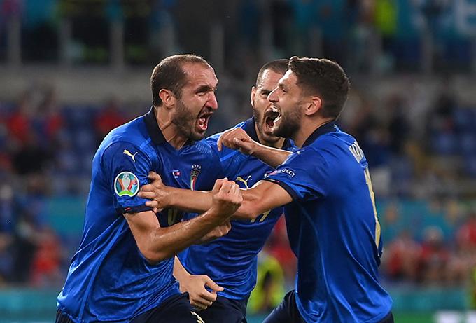 Chiellini không thể ghi bàn trong trận thứ 14 tại EURO