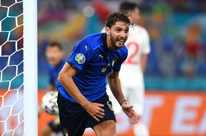 Locatelli đang là phát hiện của Italia trong giải năm nay