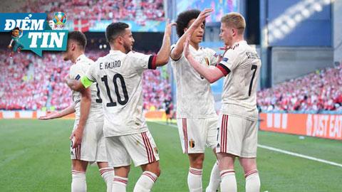 Điểm tin EURO 18/6: De Bruyne và Hazard phá kỷ lục 13 năm