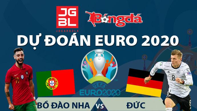 Dự đoán EURO 2020 trúng thưởng: Bồ Đào Nha vs Đức
