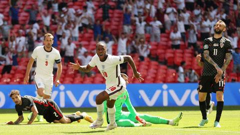 ĐT Anh (áo trắng) sẽ nối dài chuỗi toàn thắng lên 8 trận đêm nay